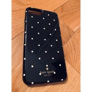 Kate Spade polka dot iPhone 7 Plus case